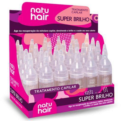 Tratamento Capilar 10ml Vitamina Super Brilho Natuhair (Unidade)