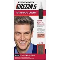 Shampoo Color Grecin 5 Castanho Claro H 25