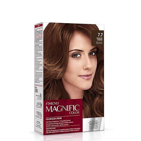 Magnific Color Kit 7.7 Chocolate Dourado Amend
