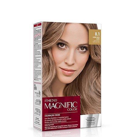 Magnific Color Kit 8.1 Louro Cinza Claro Amend