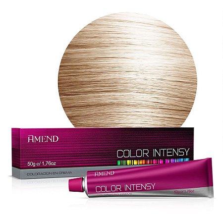 Coloração 10.0 Louro Claríssimo Color Intensy 50g Amend