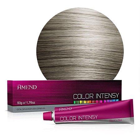 Coloração 10.1 Louro Claríssimo Acinzentado Color Intensy 50g Amend