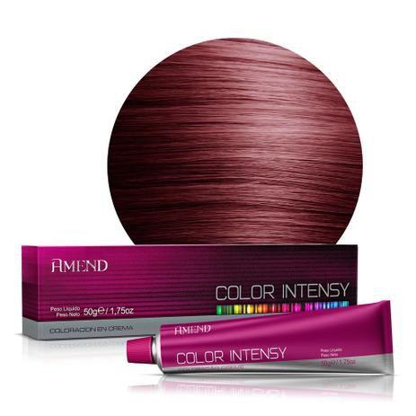 Coloração 55.46 Castanho Claro Cobre Avermelhado Intenso Color Intensy 50g Amend