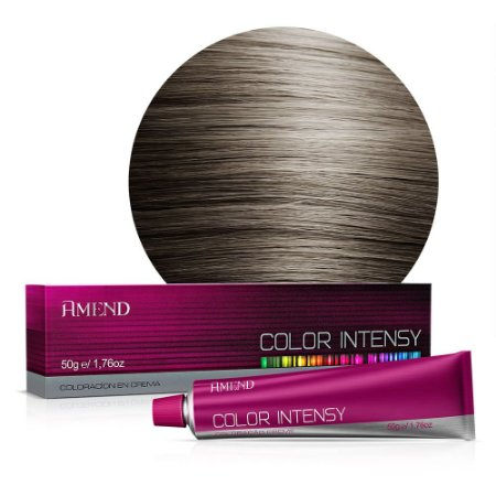 Coloração 6.1 Louro Escuro Acinzentado Color Intensy 50g Amend