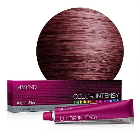Coloração 6.66 Louro Escuro Vermelho Intenso Color Intensy 50g Amend
