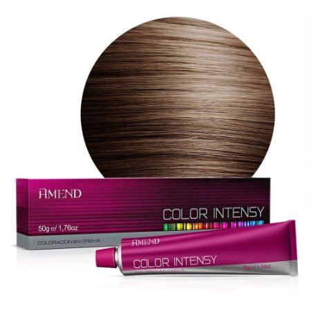 Coloração 6.7 Louro Escuro Marrom (Chocolate) Color Intensy 50g Amend