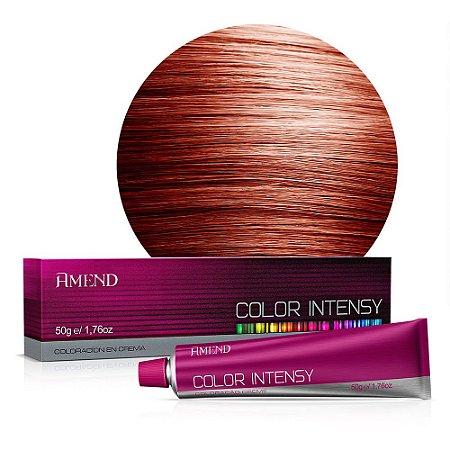 Coloração 7.46 Louro Médio Cobre Avermelhado Color Intensy 50g Amend
