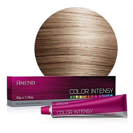Coloração 8.0 Louro Claro Color Intensy 50g Amend