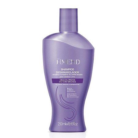 Shampoo Desamarelador Descoloridos 250ml Amend