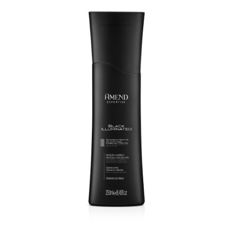 Shampoo Black Illuminated 250ml Amend