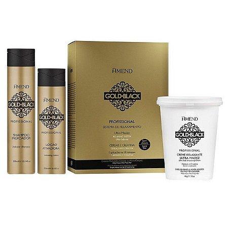 Kit Gold Black Guanidina Profissional (5 Aplicações) Amend 427