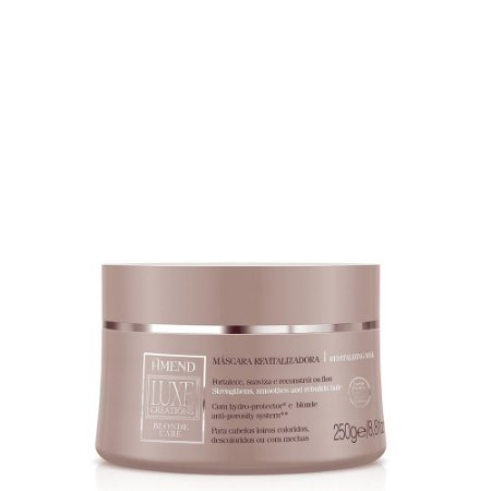 Máscara Luxe Creations Blonde Care 250g Amend