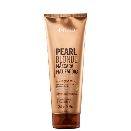 Máscara Matizadora Pearl Blonde 250g Amend