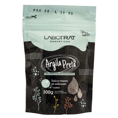 Argila Preta Corpo e Rosto 100% Natural 300g Labotrat