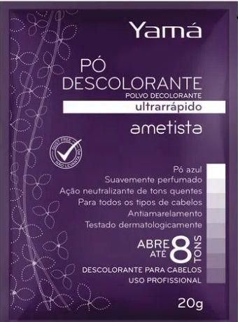 Yama Pó Descolorante 20gr Ametista