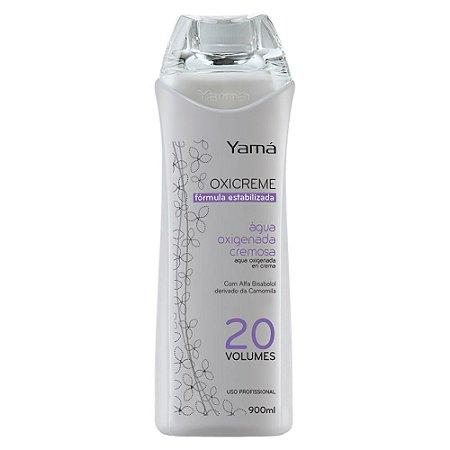 Água Oxigenada Cremosa Yama OX 900ml Vol 20