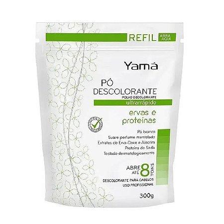 Yama Pó Descolorante Refil 300gr Ervas e Proteínas