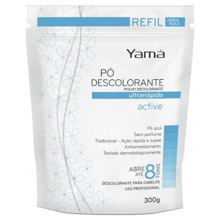 Yama Pó Descolorante Refil 300gr Active Tradicional