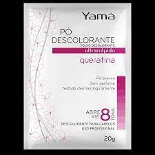 Yama Pó Descolorante 20gr Queratina