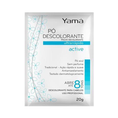 Yama Pó Descolorante  20gr Active Tradicional