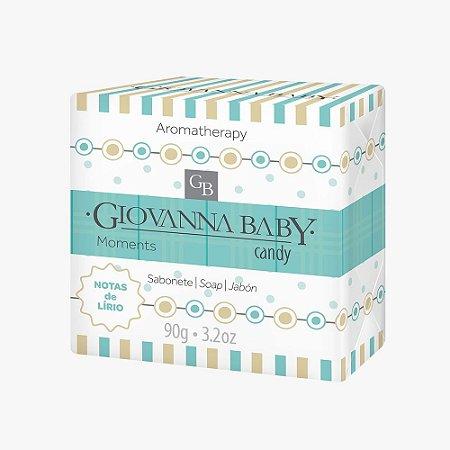 Giovanna Baby Sabonete em Barra Moments Candy 90g