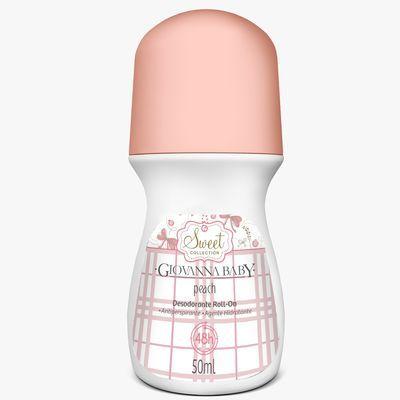 Giovanna Baby Desodorante Roll On Peach 50ml