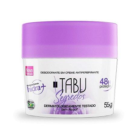 Desodorante Creme Tabu Segredos 55g