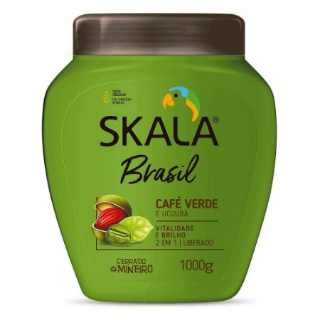 Creme Skala Brasil Café Verde e Ucuuba 1kg