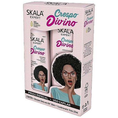 Kit Shampoo e Condicionador Skala 325ml Crespo Divino