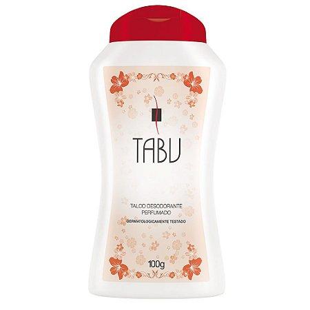 Talco Perfumado Tabu Tradicional 100g