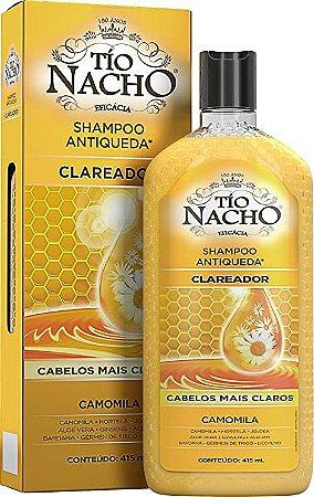 Shampoo Antiqueda Clareador Tio Nacho 415ml