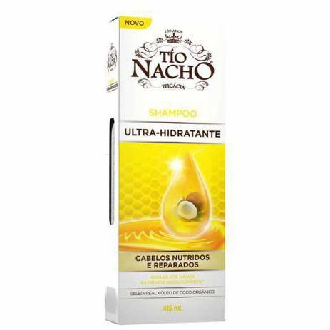 Shampoo Ultra-Hidratante Tio Nacho 415ml