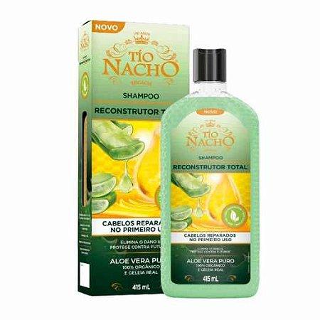 Shampoo Antiqueda Reconstrutor Total Tio Nacho 415ml
