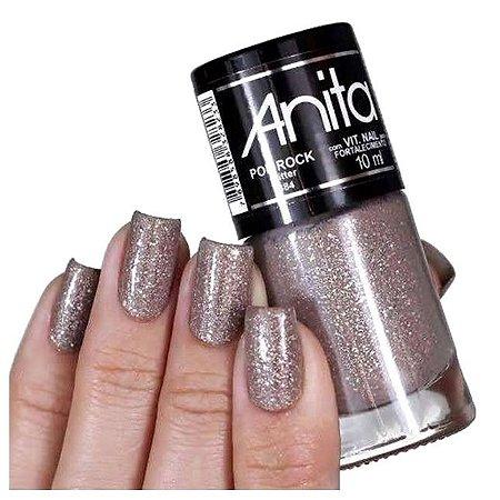 Esmalte Gliter Anita Pop Rock 10ml