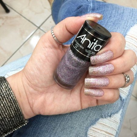 Esmalte Anita Glitter Tô Chocada 10ml