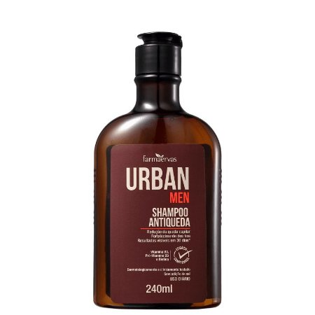 Shampoo Urban Men Antiqueda 240ml Farmaervas