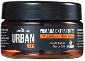 Pomada Extra Forte Efeito Natural Urban Men 50g Farmaervas