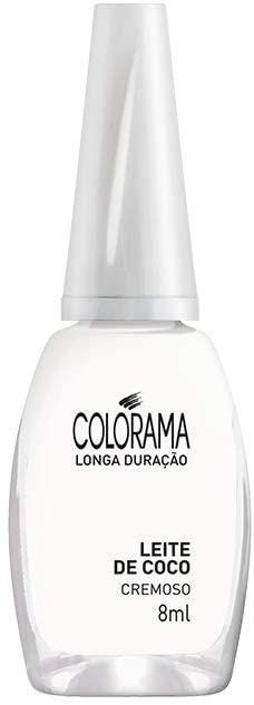 Esmalte Colorama Leite de Coco 8ml