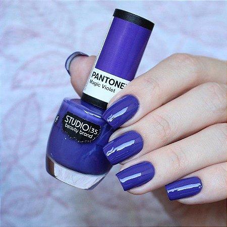 Esmalte Studio 35 Pantone Magic Violet 9ml