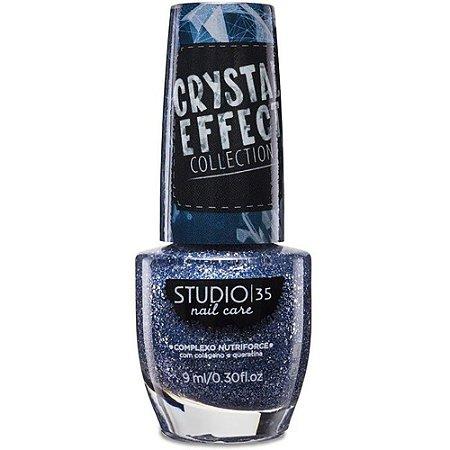 Esmalte Studio 35 Crystal Effect Estrelas No Céu 9ml
