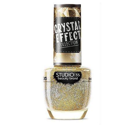Esmalte Studio 35 Crystal Effect Não Ofusca Meu Brilho 9ml