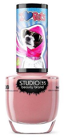 Esmalte Studio 35 Lulu Cor de Rosa 9ml
