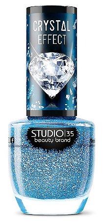 Esmalte Studio 35 Crystal Effect III Mar do Caribe 9ml