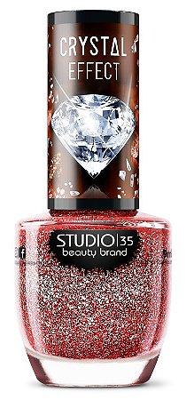 Esmalte Studio 35 Crystal Effect III Ruby Precioso 9ml