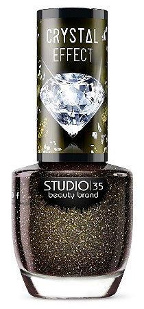 Esmalte Studio 35 Crystal Effect III Diamante Negro 9ml