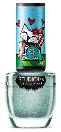 Esmalte Studio 35 Romero Britto Gata Doce 9ml