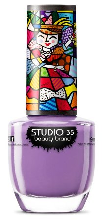 Esmalte Studio 35 Romero Britto Felicidade Não Se Compra 9ml