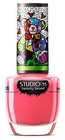 Esmalte Studio 35 Romero Britto Meu Ursinho Feliz 9ml