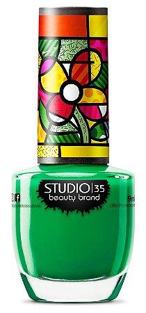 Esmalte Studio 35 Romero Britto Trevo De 4 Cores 9ml