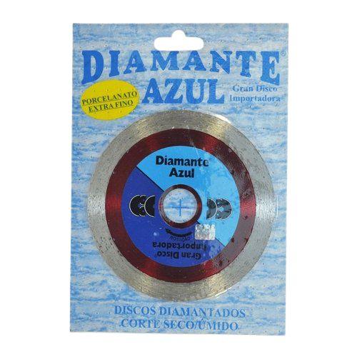 Disco Porcelanato Extra Fino Corte Seco/úmido Diamante Azul